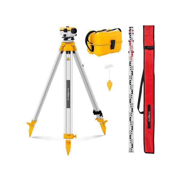 Optická vodováha + statív - priemer 40 mm SBS-LIS-3240 - 1