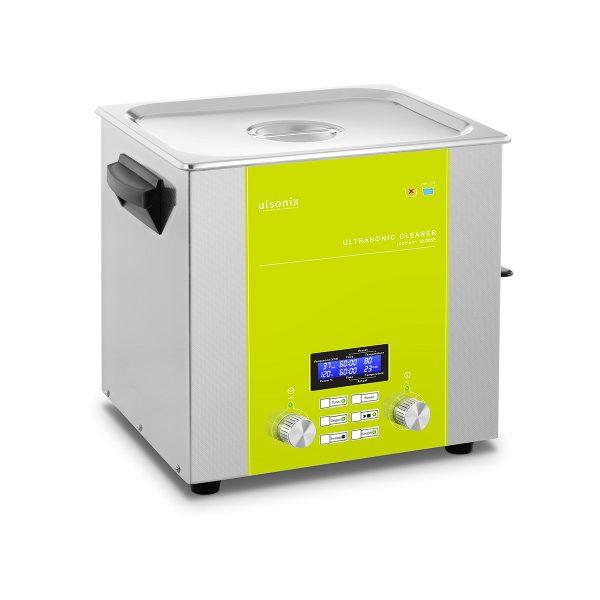 Ultrazvuková umývačka - 10 litrov | 260 W - DSP model: PROCLEAN 10.0DSP, 4 generátore, funkcie D – degas, S – sweep, P – pulse.