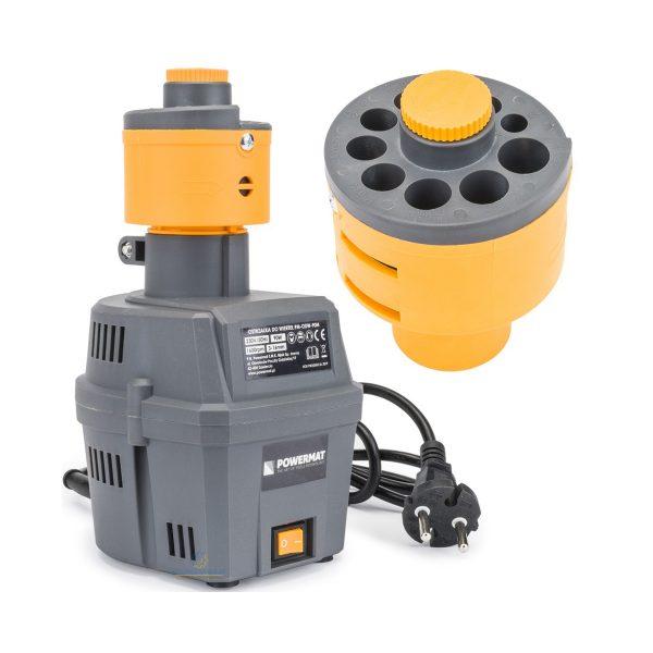 Brúska na vrtáky HSS   PM-ODW-90M 90W, na brúsenie vrtákov (malý adaptér): 3 mm - 10 mm a priemer vrtákov (veľký adaptér): 8 mm - 16 mm.