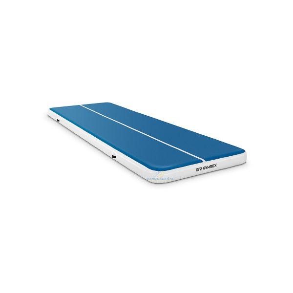 Nafukovacia žinienka - 600 x 200 x 20 cm   modrá - biela vhodná pre športy ako gymnastika, džudo, parkour, tanec, bojové športy a ďalšie akrobatické športy