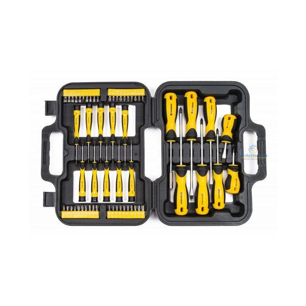 Skrutkovače a bity model POWERMAT PM-WK-58Z prakticý pomocník v každej domácej dielni, autoservise.