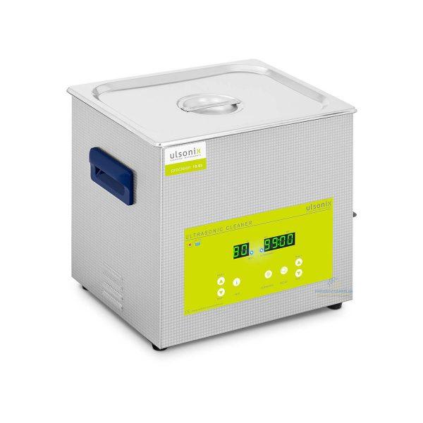 Ultrazvuková čistička | 10 litrov - 240 W, využitie v automobilovom priemysle,na čistenie piestov, ventilov, hláv valcov, blokov motorov. Funkia degas.