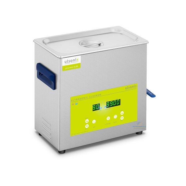 Ultrazvuková čistička | 6,5 l - Degas, 3 ultrazvukové snímače o výkone 180 W, ultrazvuková frekvencia 40 kHz. Degas maximálna účinnosť odplynenia.