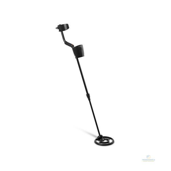 Detektor kovov - Ø 19 cm - 150 cm/16 cm | vodotesný, umožňuje nastaviť dĺžku výložníka v rozsahu 94 - 120 cm a uhol sondy. Odolnosť voči dažďu, snehu