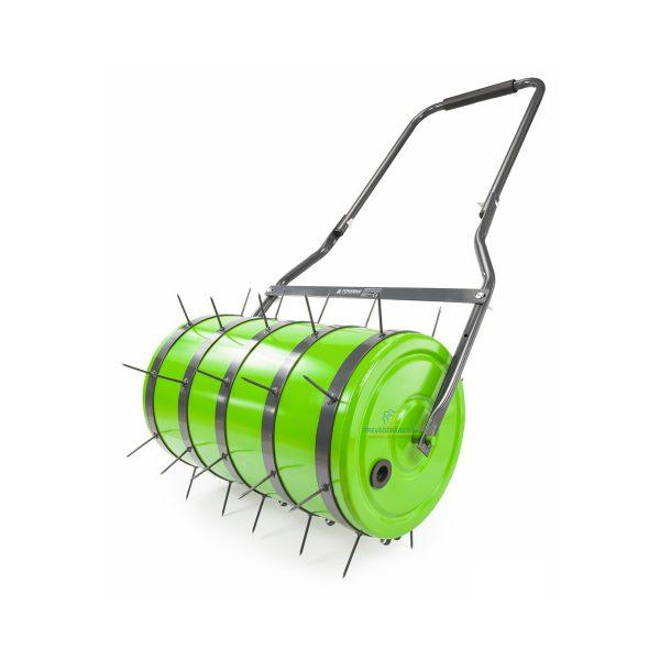 Záhradný valec, kultivátor a prevzdušňovač pôdy 35L | PM-SWO-50, funkcie 2v1 valcovanie a prevdzušňovanie trávnika, pracovná šírka - 50 cm.