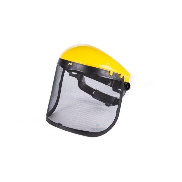 Sieťková ochranná maska na kosenie | SILVER EX1040, bezpečnosť pri kosení trávy benzínovou kosačkou, elektrickou kosačkou, krovinorezom.