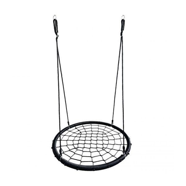 Hojdačka bocianie hniezdo | 100 cm, hojdačka do vonkajšieho prostredia pre deti a aj dospelých, max.zaťaženie: 120 kg, priemer kruhu: 100 cm.