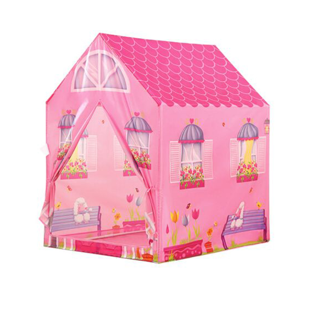 Detský stan   ružový domček
