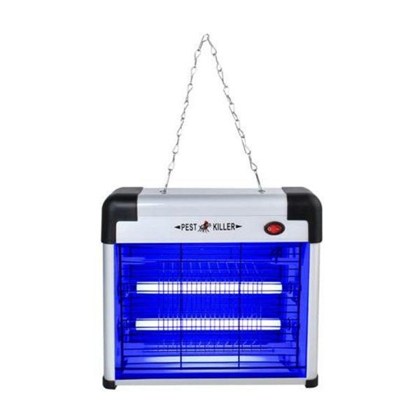 Elektrický lapač hmyzu – 12 W. Funguje bez použitia chemikálií, neemituje látky škodlivé pre životné prostredie. Ničí lietajúci hmyz komáre.