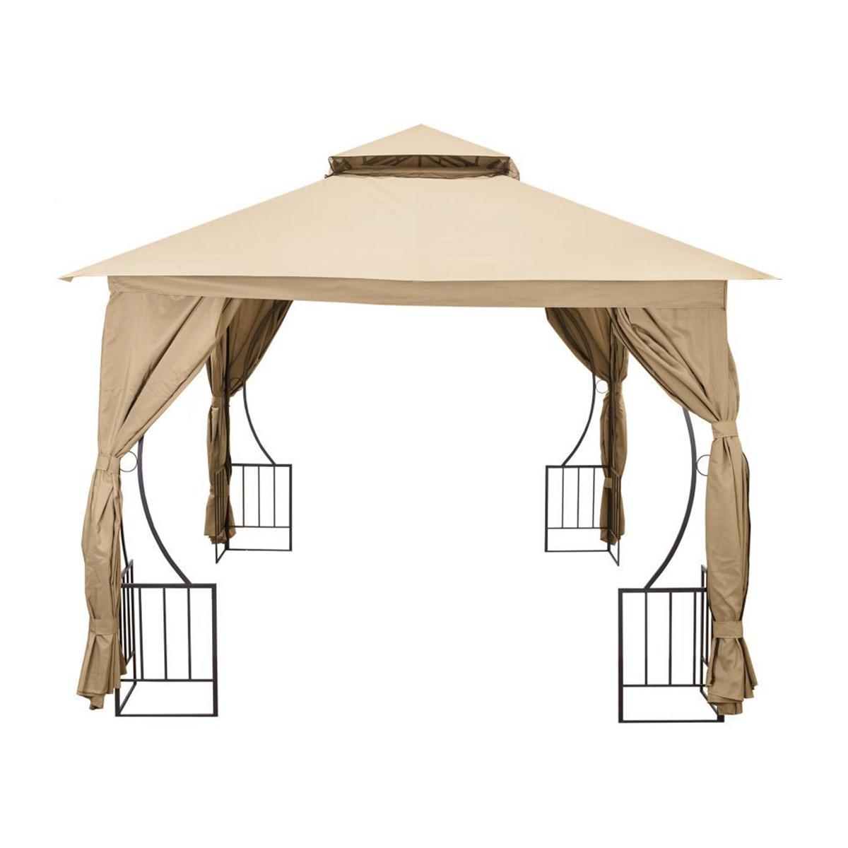 Záhradný altánok pavilón lux 3x3m | béžový