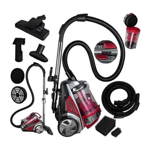 Vysávač multicyklónový | 800 W 4L Malatec, nová technológia vysávaniae. Filtrácia vdzuchu, častice prachu sa oddelia od vzduchu nasávaného do komory.