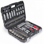Sada nástrčných kľúčov a bitov - 108 prvkov - BK-108-01 -2