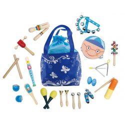 Sada hudobných nástrojov - 16 ks | + taška