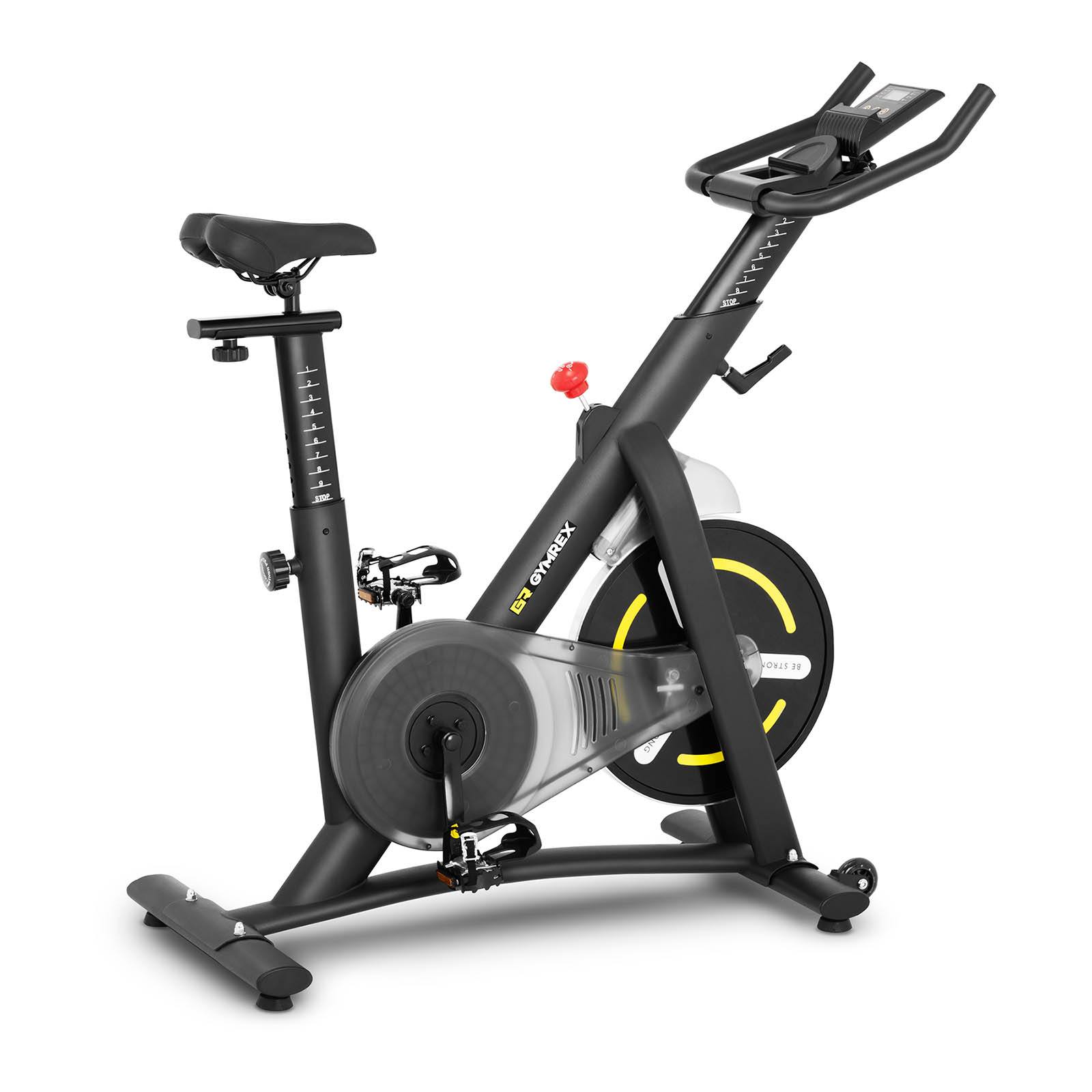 Stacionárny bicykel - LCD panel Gymrex   GR-MG13