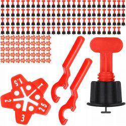 Systém na obklady a dlažbu - kliny spony 2 kľúče | 150ks bude veľmi dobre slúžiť na vyrovnanie obkladov, glazúry a dlaždíc.