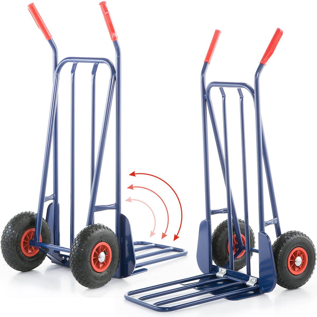 Rudla - prepravný vozík 280kg   skladacia